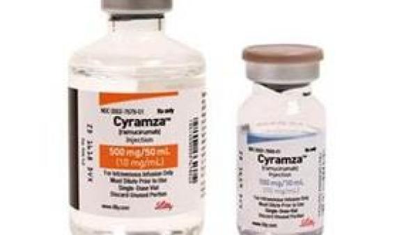 胃癌食管癌的靶向药雷莫芦单抗