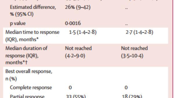 有效率55%:晚期肺癌免疫+化疗组合方案获FDA受理