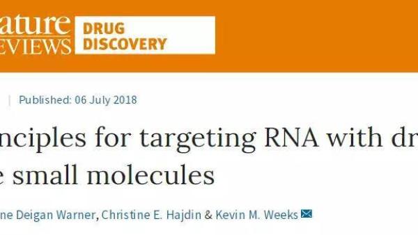 RNA靶向药物的研发近况